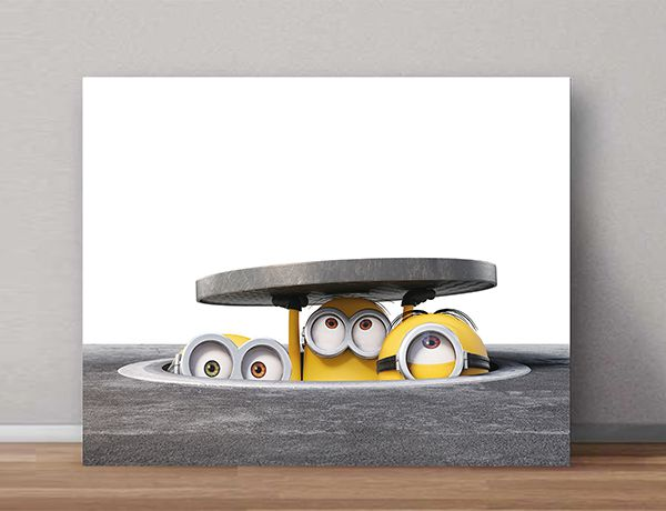 Quadro Decorativos Minions 0013  - Paredes Decoradas