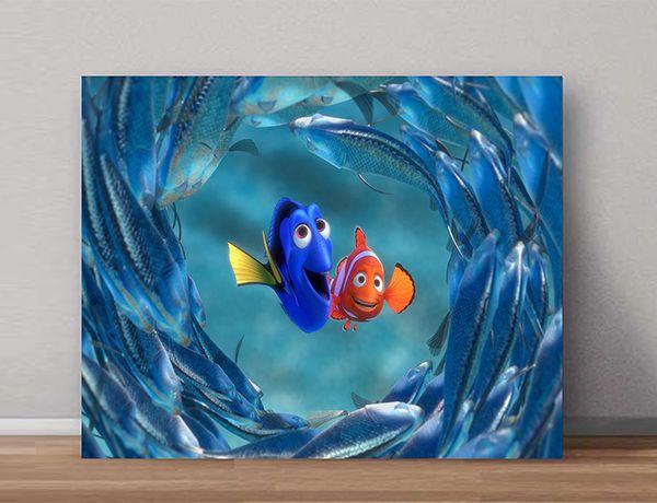 Quadro Decorativos Nemo 0007  - Paredes Decoradas