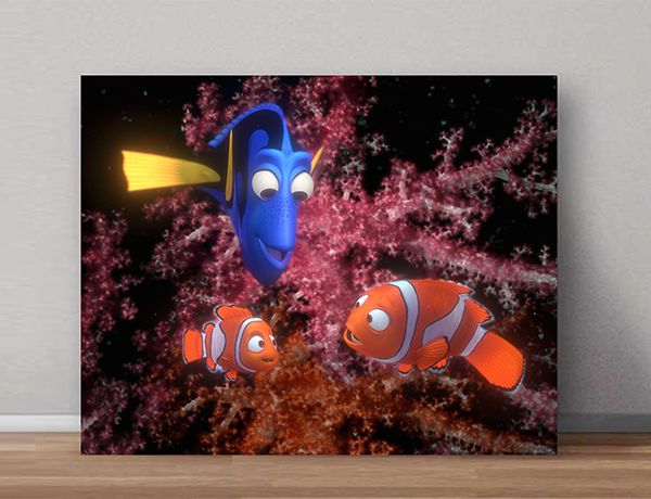 Quadro Decorativos Nemo 0008  - Paredes Decoradas