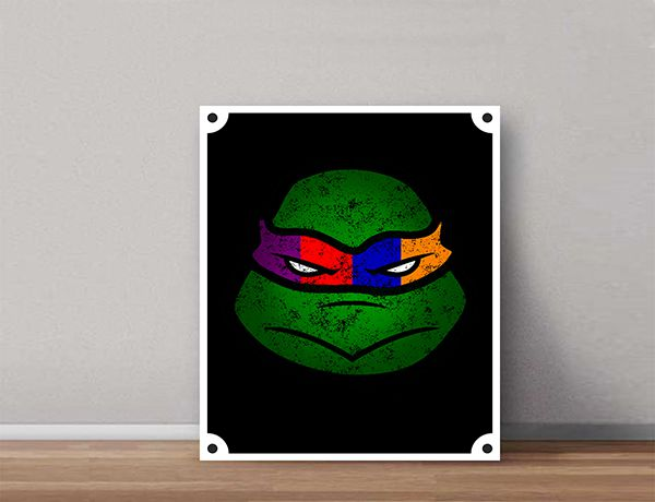 Quadro Decorativos Tartarugas Ninjas 0002  - Paredes Decoradas