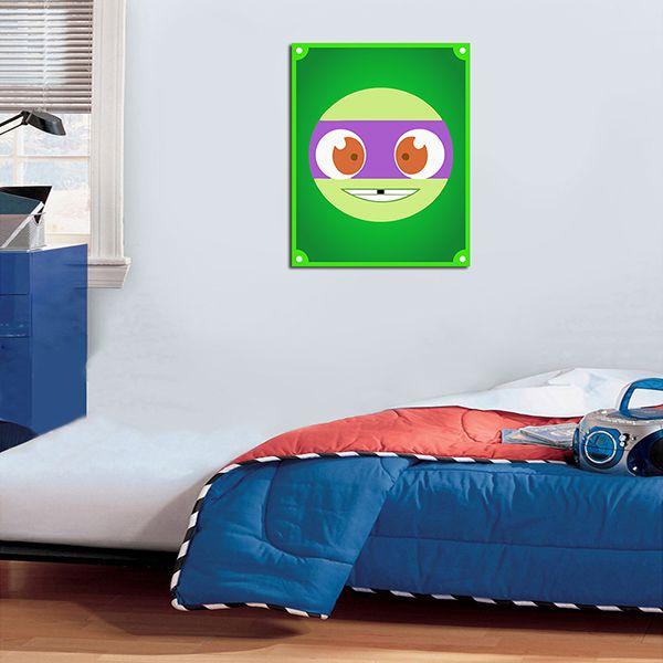 Quadro Decorativos Tartarugas Ninjas 0007