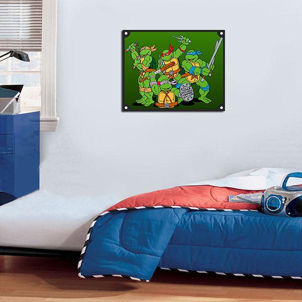 Quadro Decorativos Tartarugas Ninjas 0020