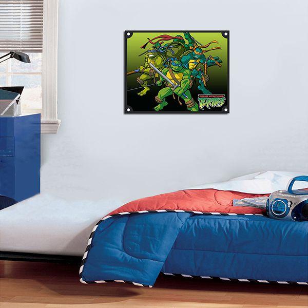 Quadro Decorativos Tartarugas Ninjas 0022