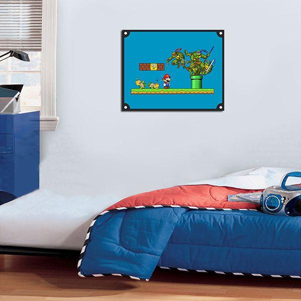 Quadro Decorativos Tartarugas Ninjas 0024