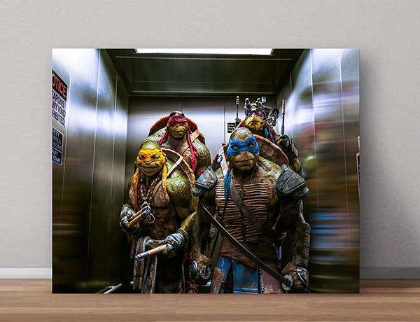 Quadro Decorativos Tartarugas Ninjas 0026  - Paredes Decoradas