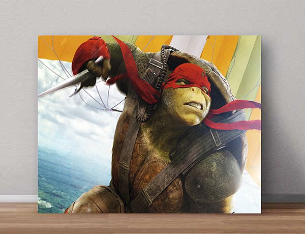 Quadro Decorativos Tartarugas Ninjas 0028  - Paredes Decoradas