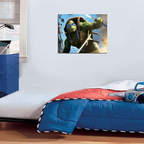 Quadro Decorativos Tartarugas Ninjas 0029