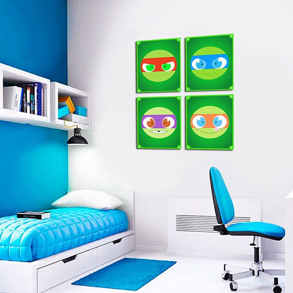 Quadro Decorativos Tartarugas Ninjas 0031