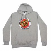 Moletom Santa Cruz Hood MFG Dot Grey