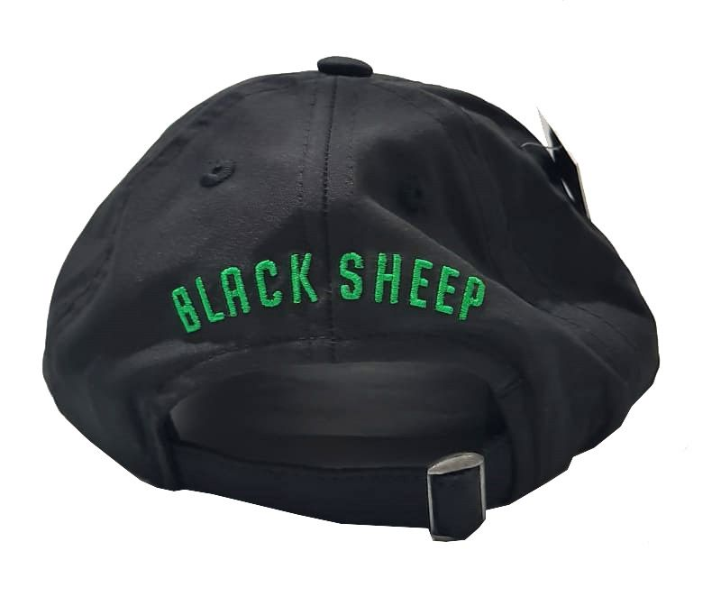 Boné Black Sheep Dad Hat Mini B Black