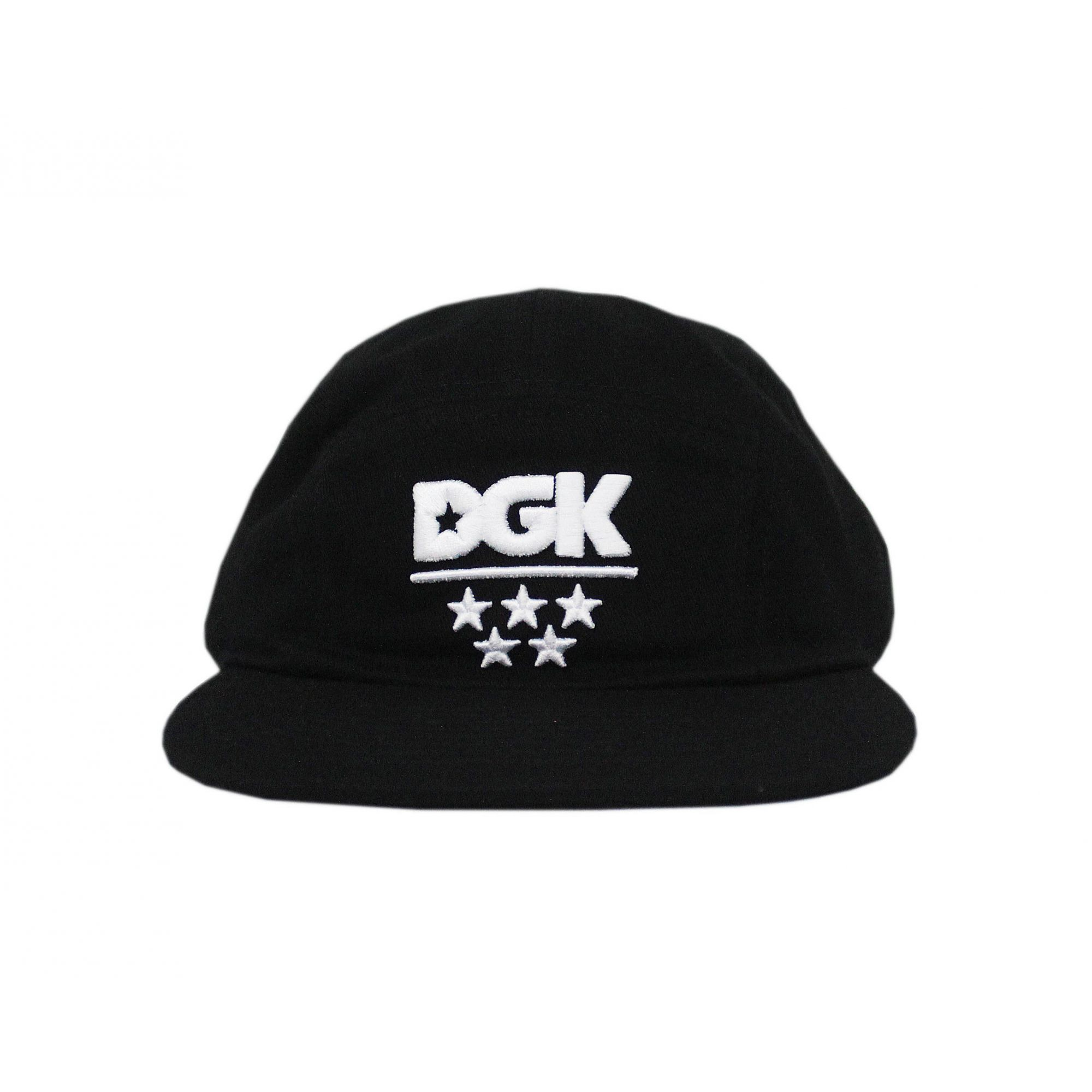 Boné DGK Five Panel All Star Camper Preto