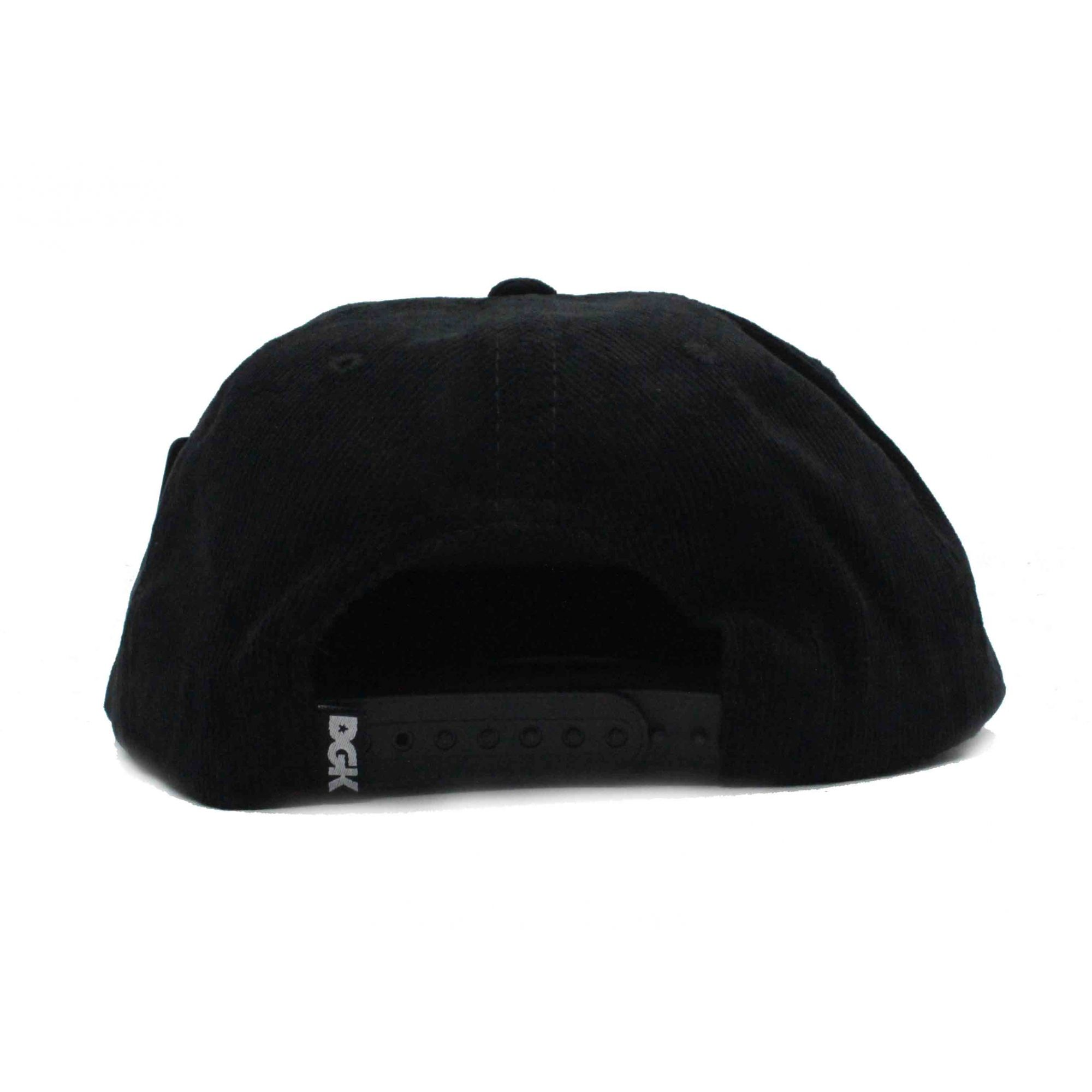 Boné DGK Snapback Major Black