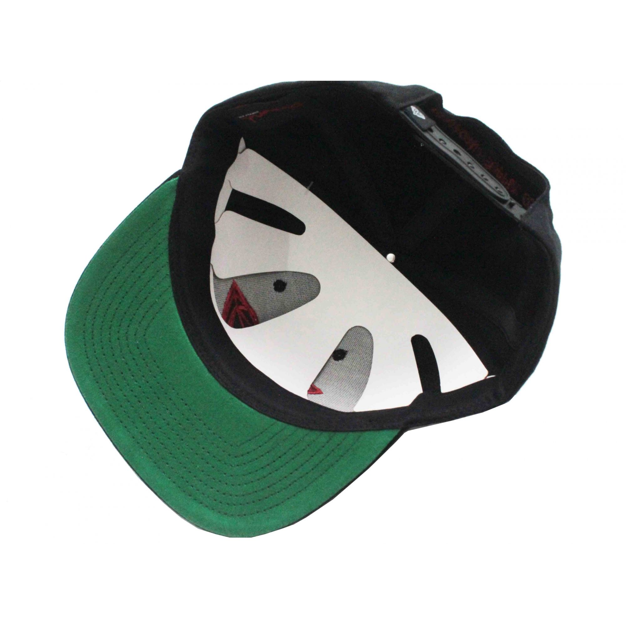 Boné Diamond Snapback Brilliant Black