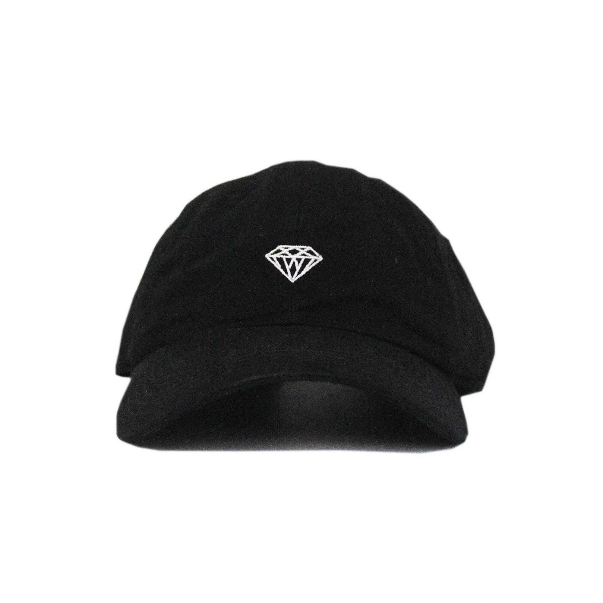 Boné Diamond Strapback Micro Brilliant Preto