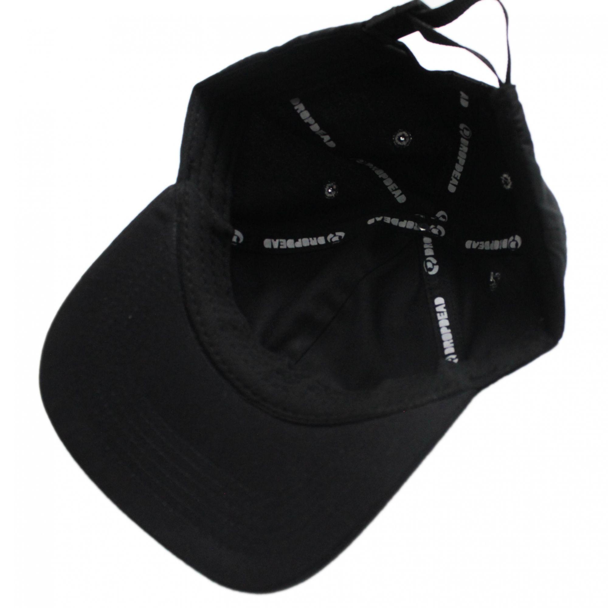 Boné Drop Dead Dad Hat Futura Preto