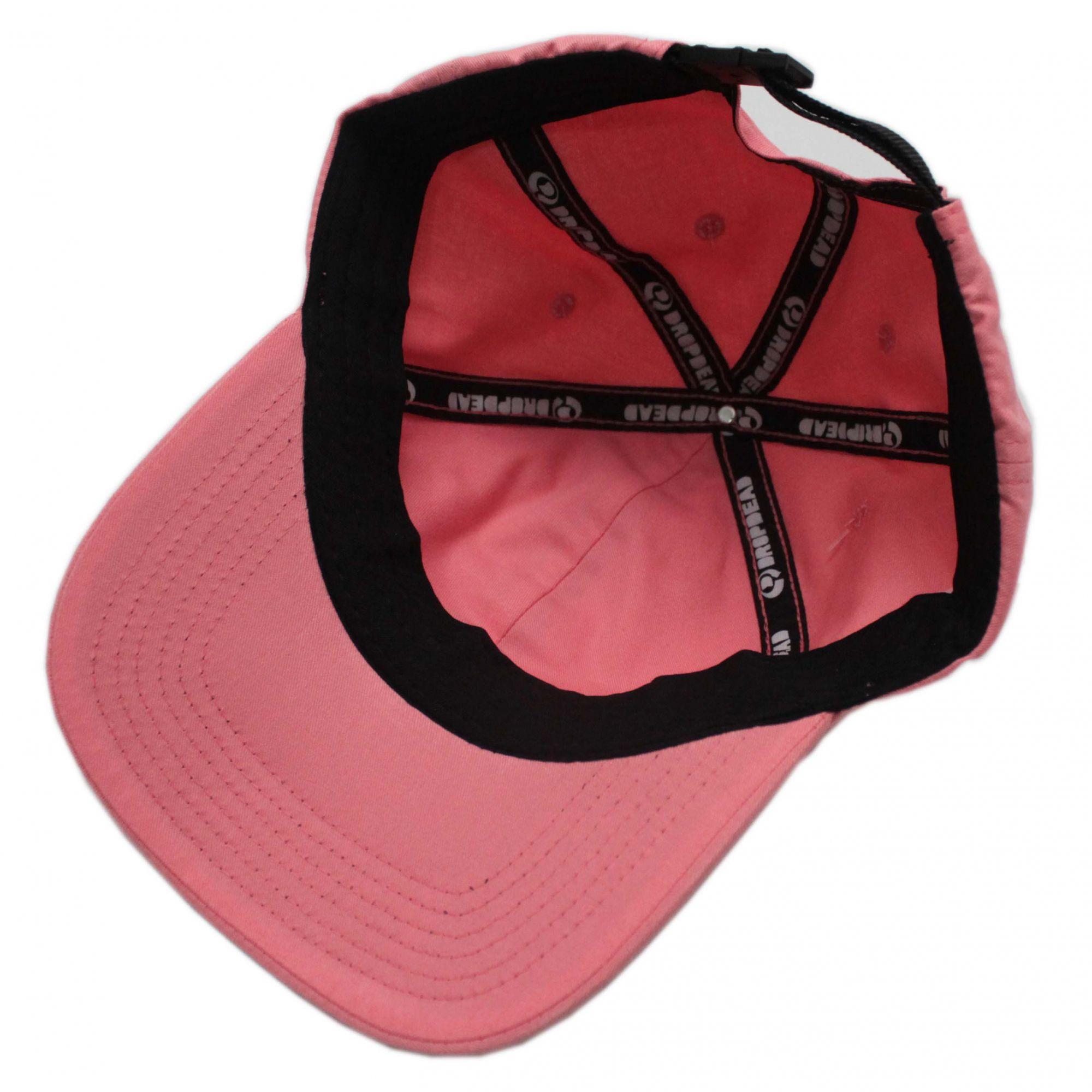 Boné Drop Dead Dad Hat Futura Rosa