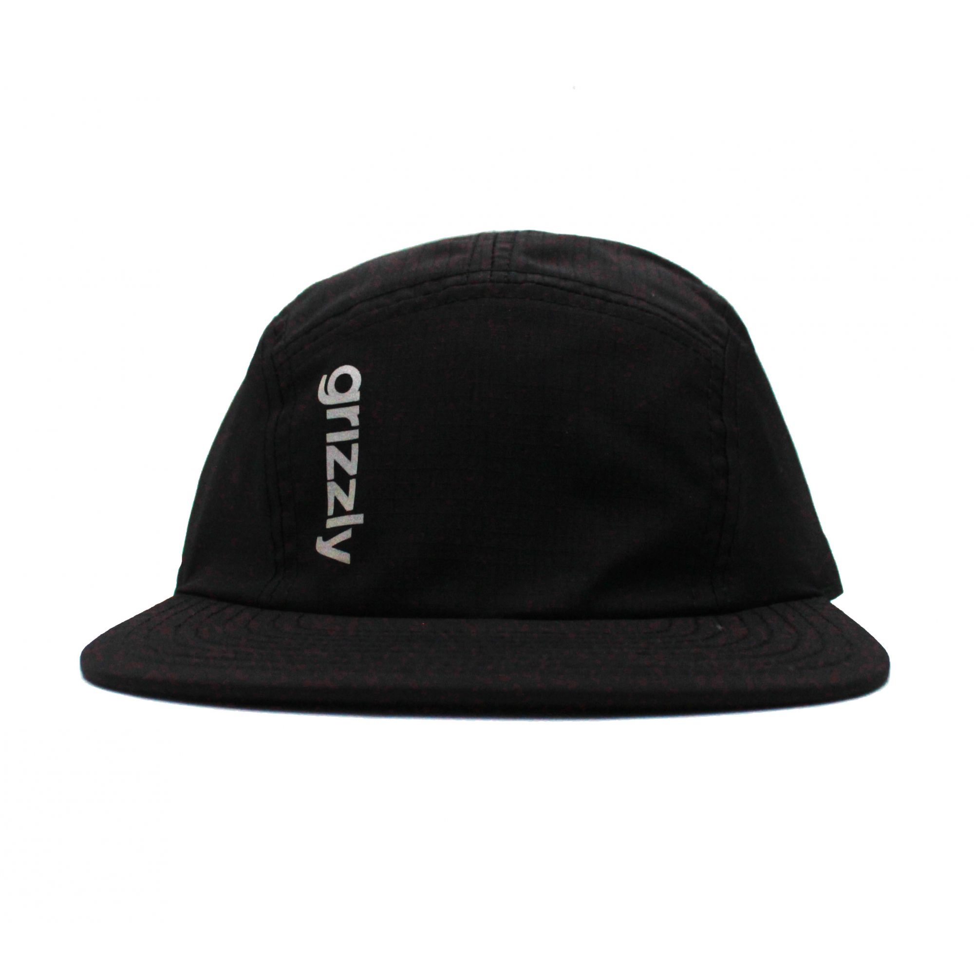 Boné Grizzly Five Panel Nocturnal Preto