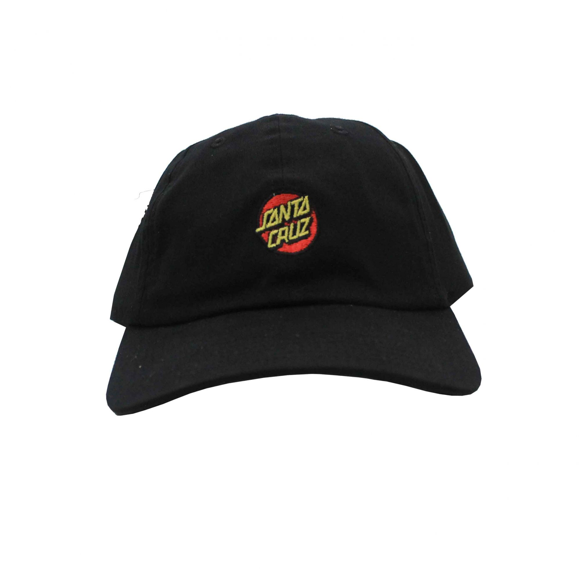 Boné Santa Cruz Dad Hat Classic Dot Black