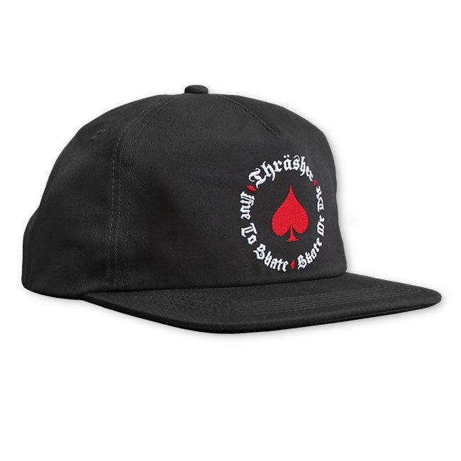 Boné Thrasher Magazine Snapback New Oath Black