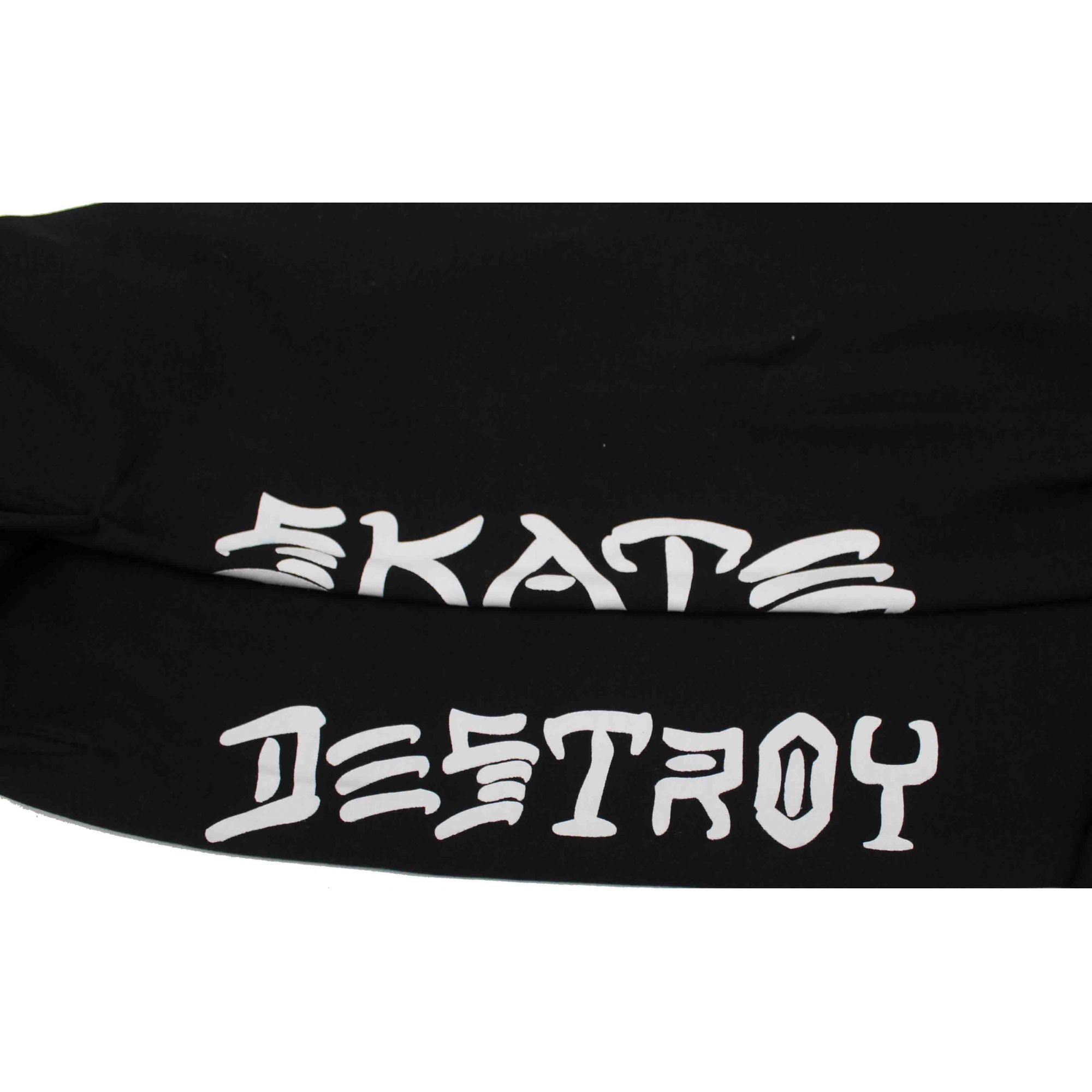 Calça Moletom Thrasher Magazine Skate and Destroy Black