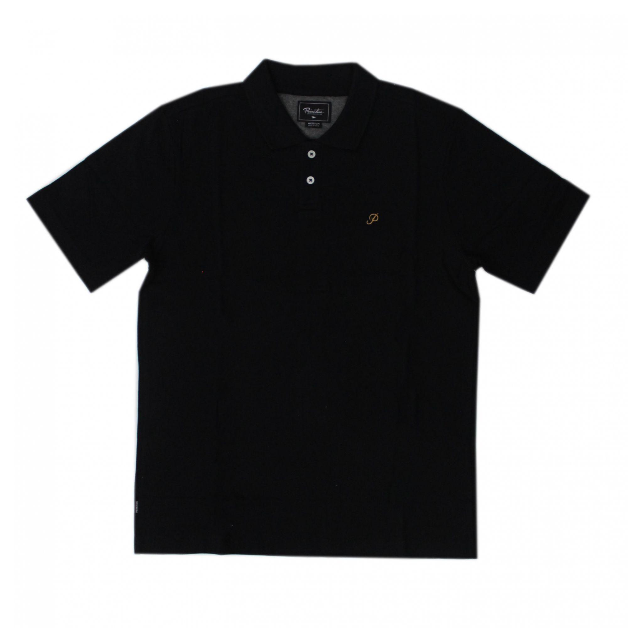 Camisa Polo Primitive Classic P Preto (Importado)