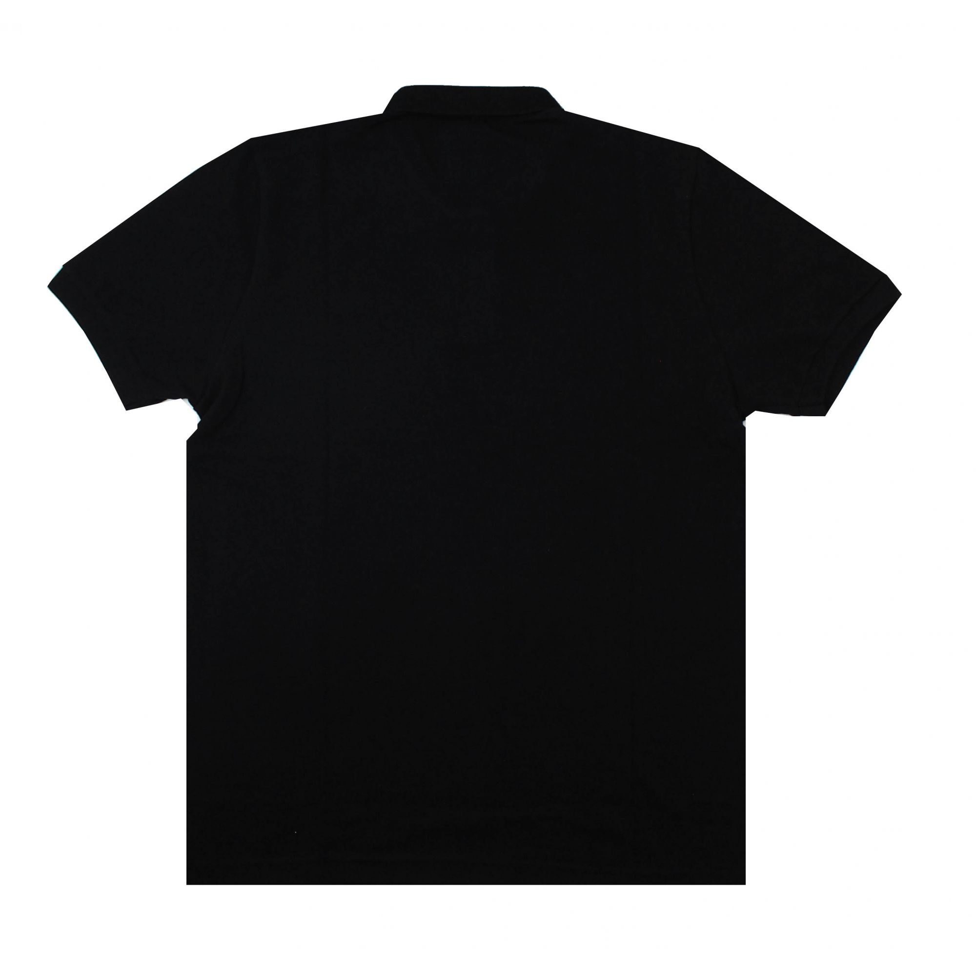 Camisa Polo Thrasher Magazine Mini Logo Bordado Preto