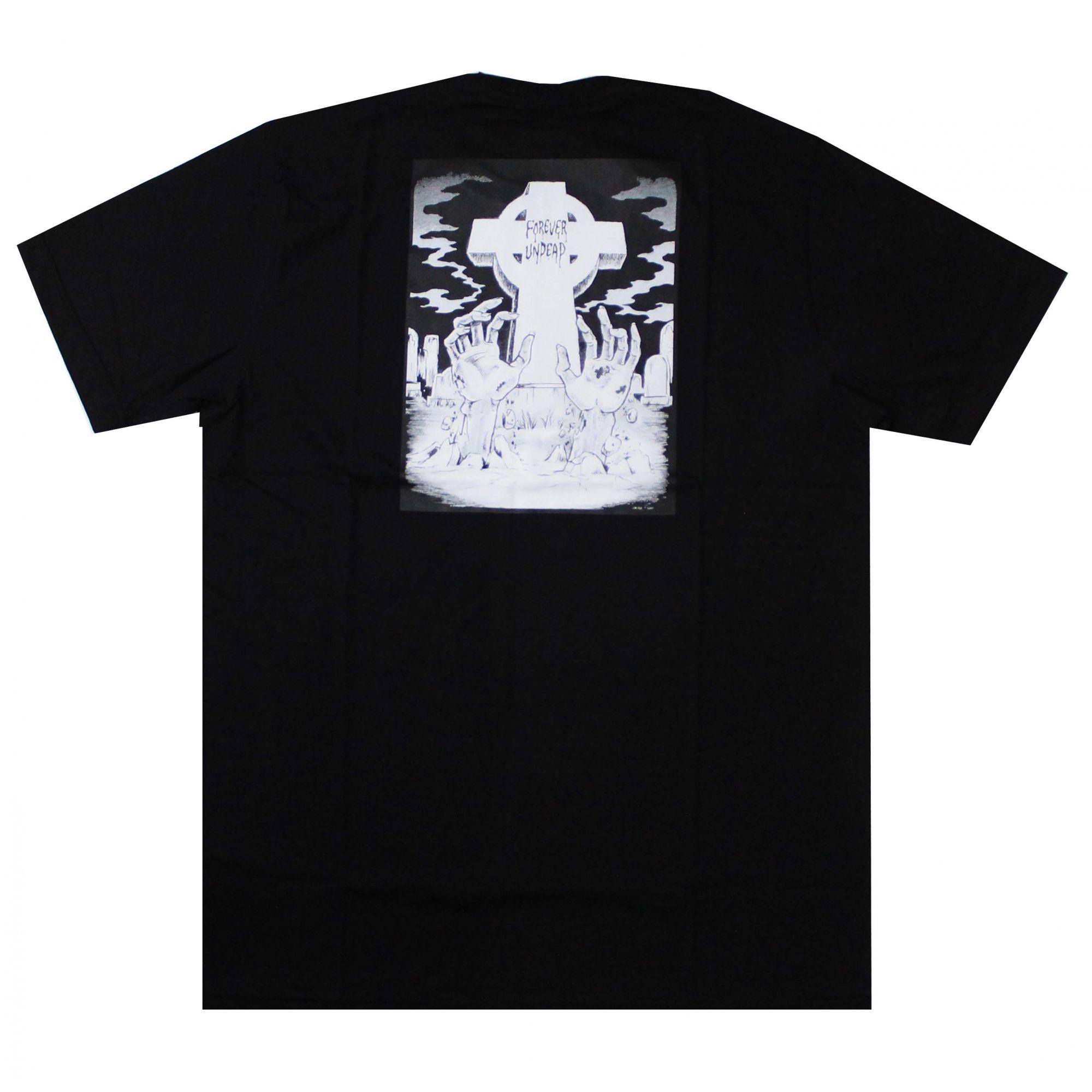Camiseta Creature Forever Undead Preto