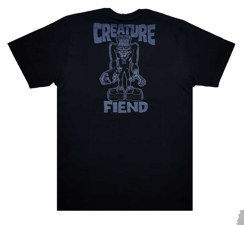 Camiseta Creature Frankenfiend Black