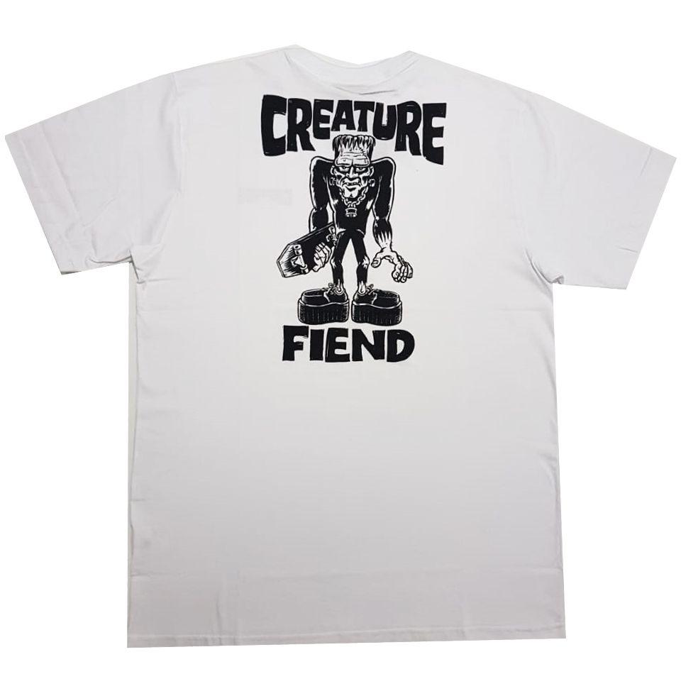 Camiseta Creature Frankenfiend White