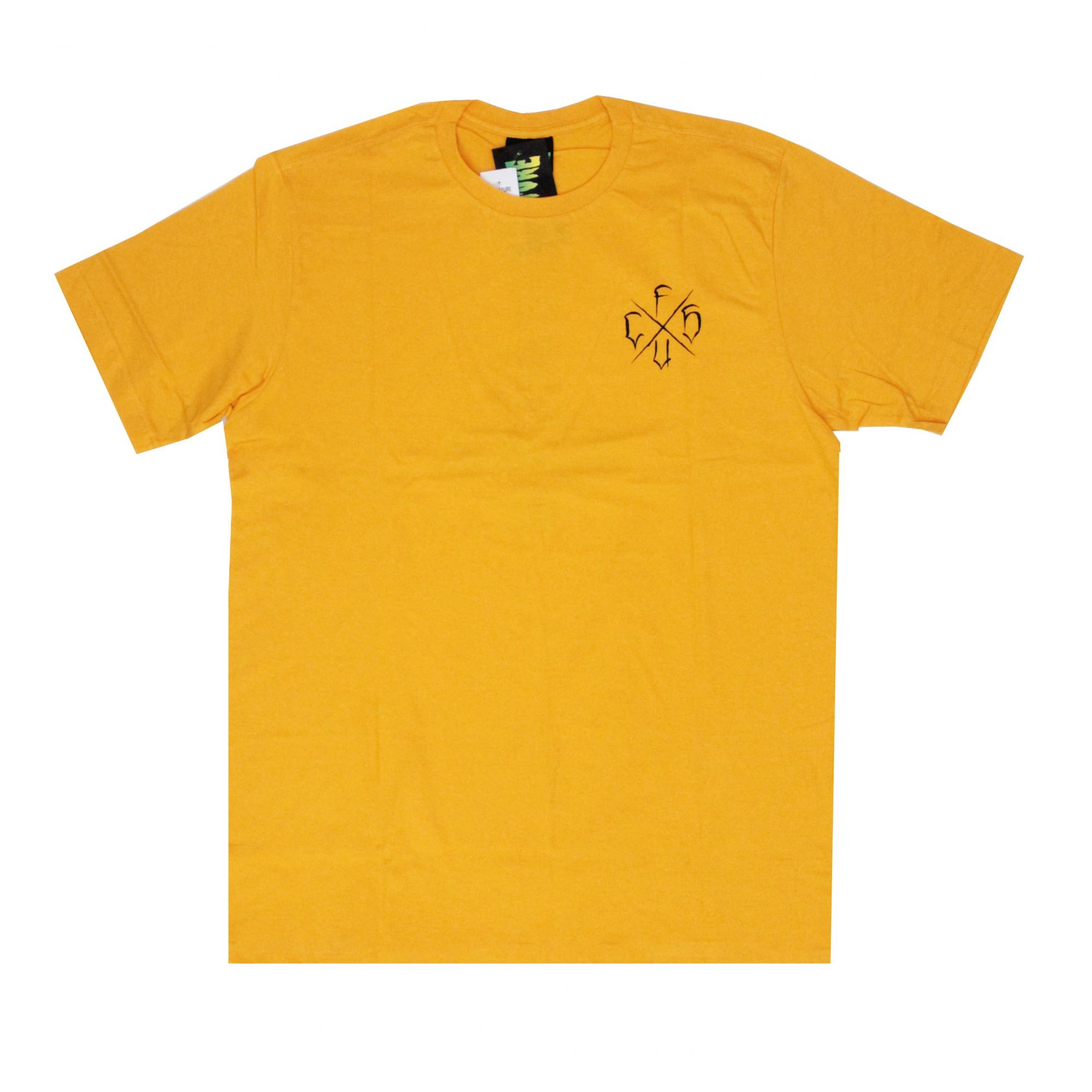 Camiseta Creature Horde Cross Amarelo