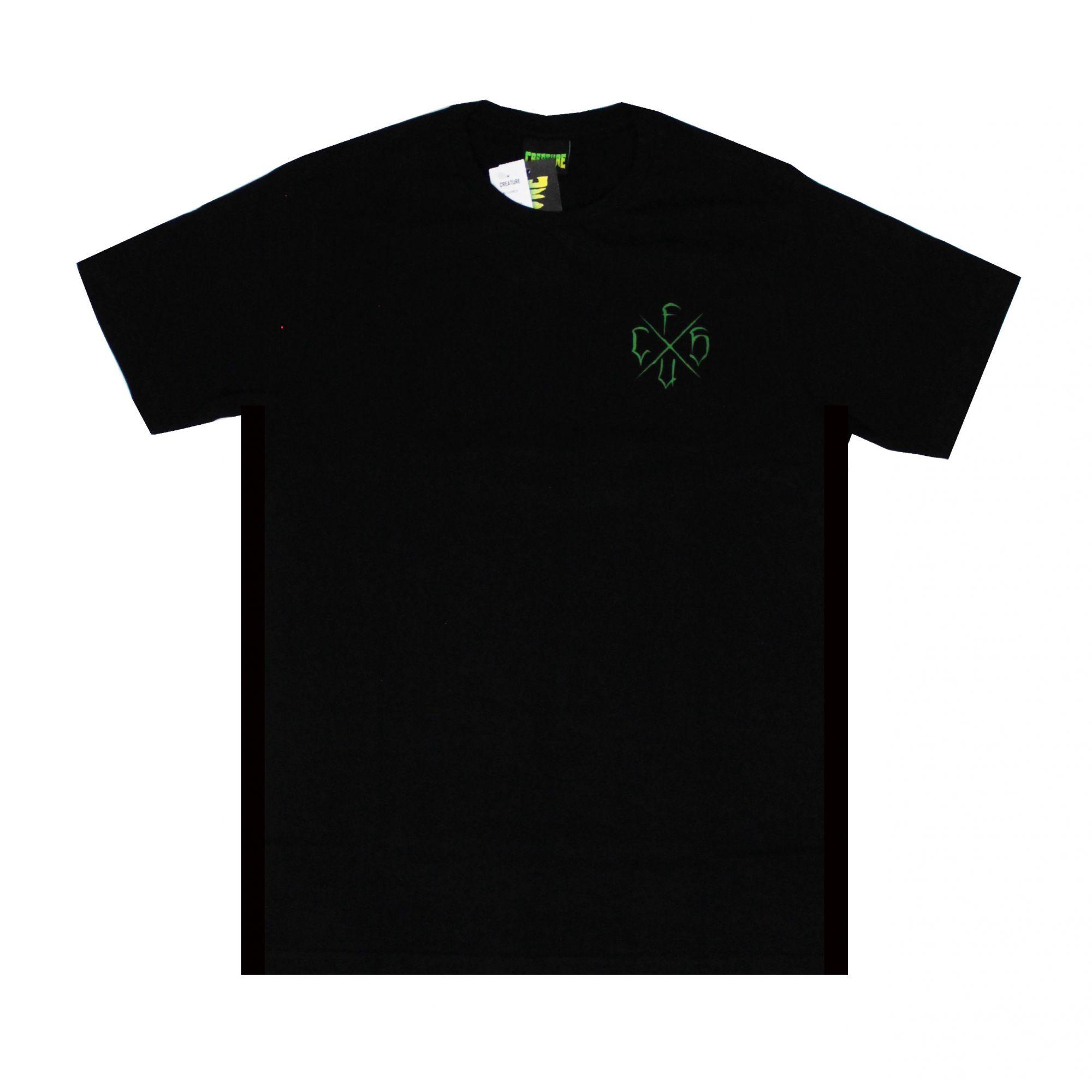 Camiseta Creature Horde Cross Preto