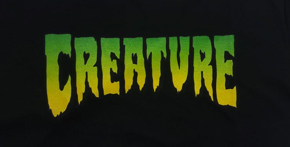 Camiseta Creature Logo Black