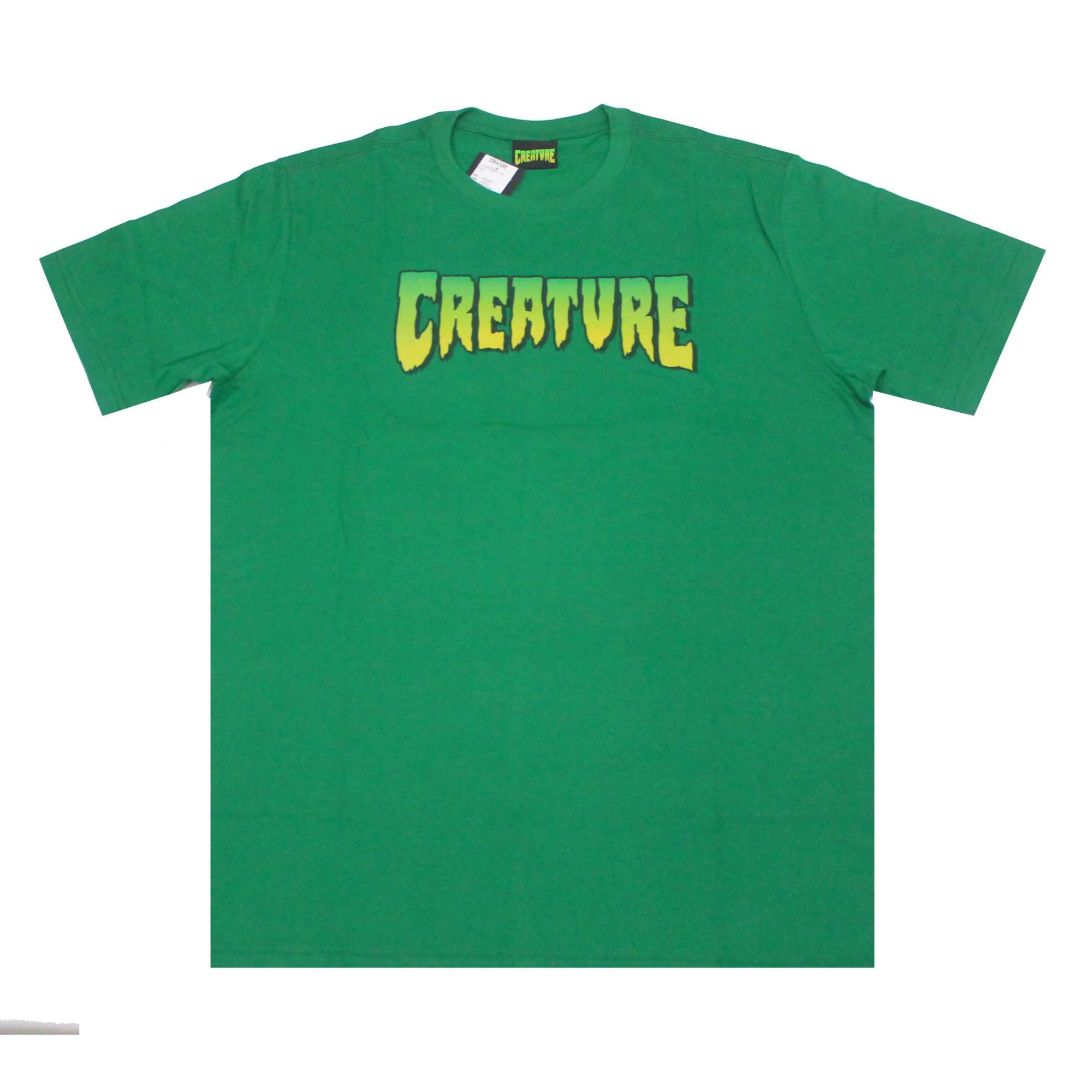 Camiseta Creature Logo Green