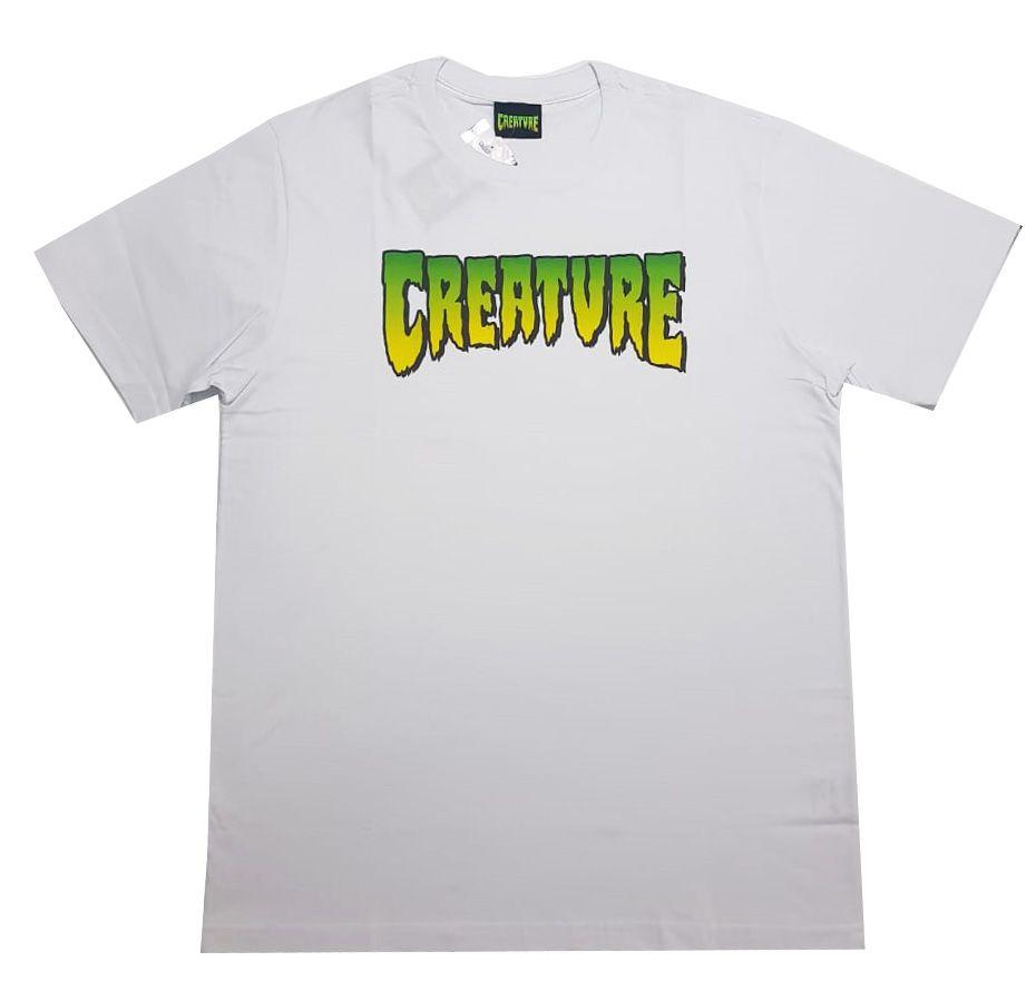 Camiseta Creature Logo White