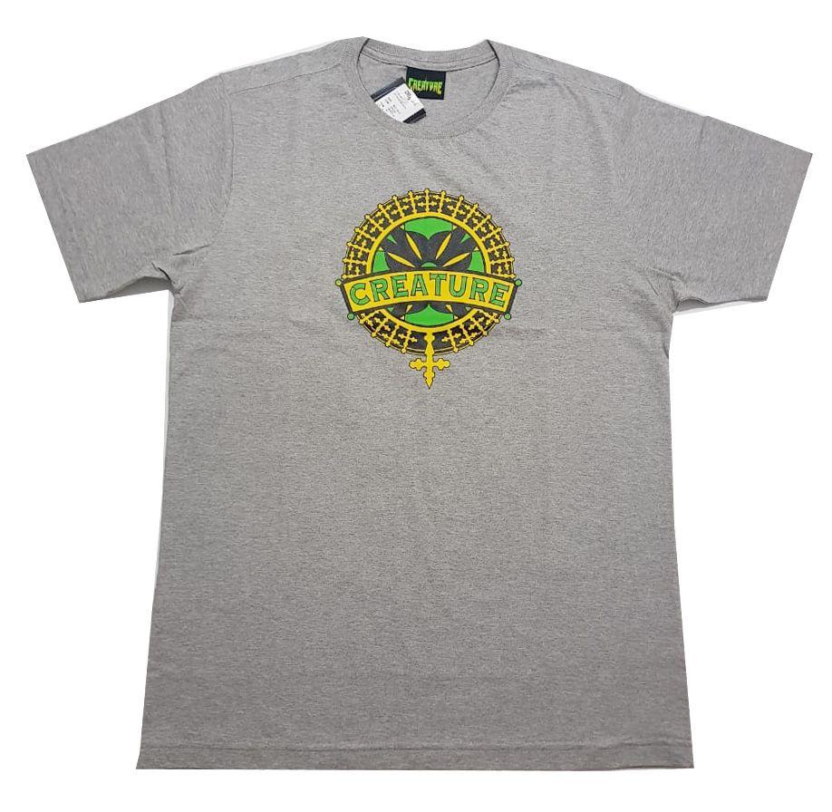 Camiseta Creature Stainedglass Cinza