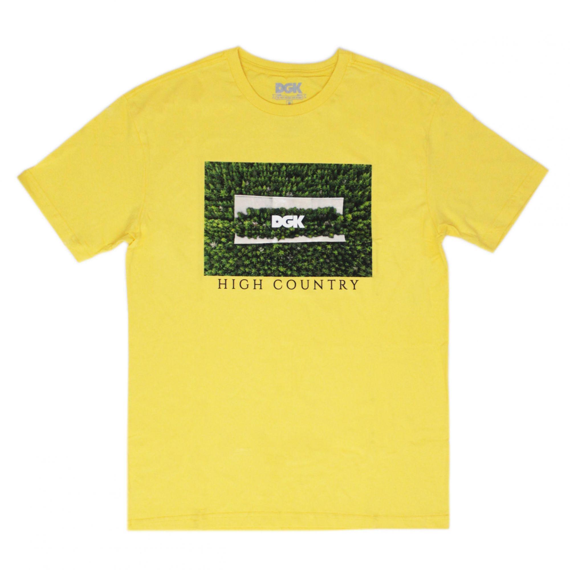 Camiseta DGK High Country Amarela