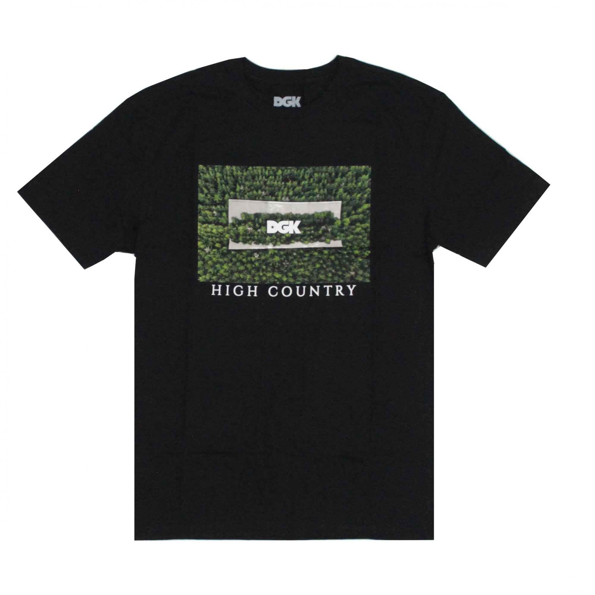 Camiseta DGK High Country Preto