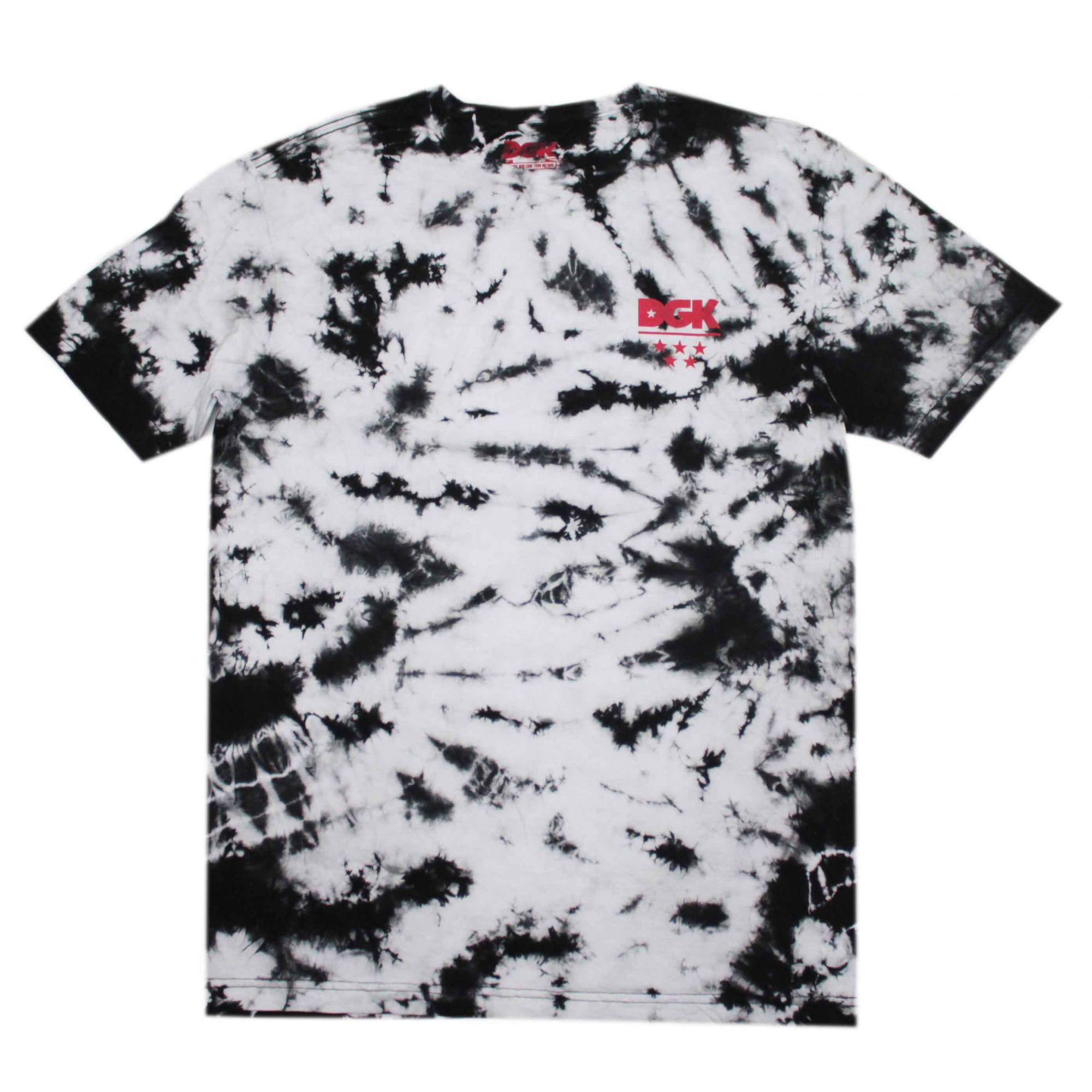 Camiseta DGK Smokey Tie Dye Preto