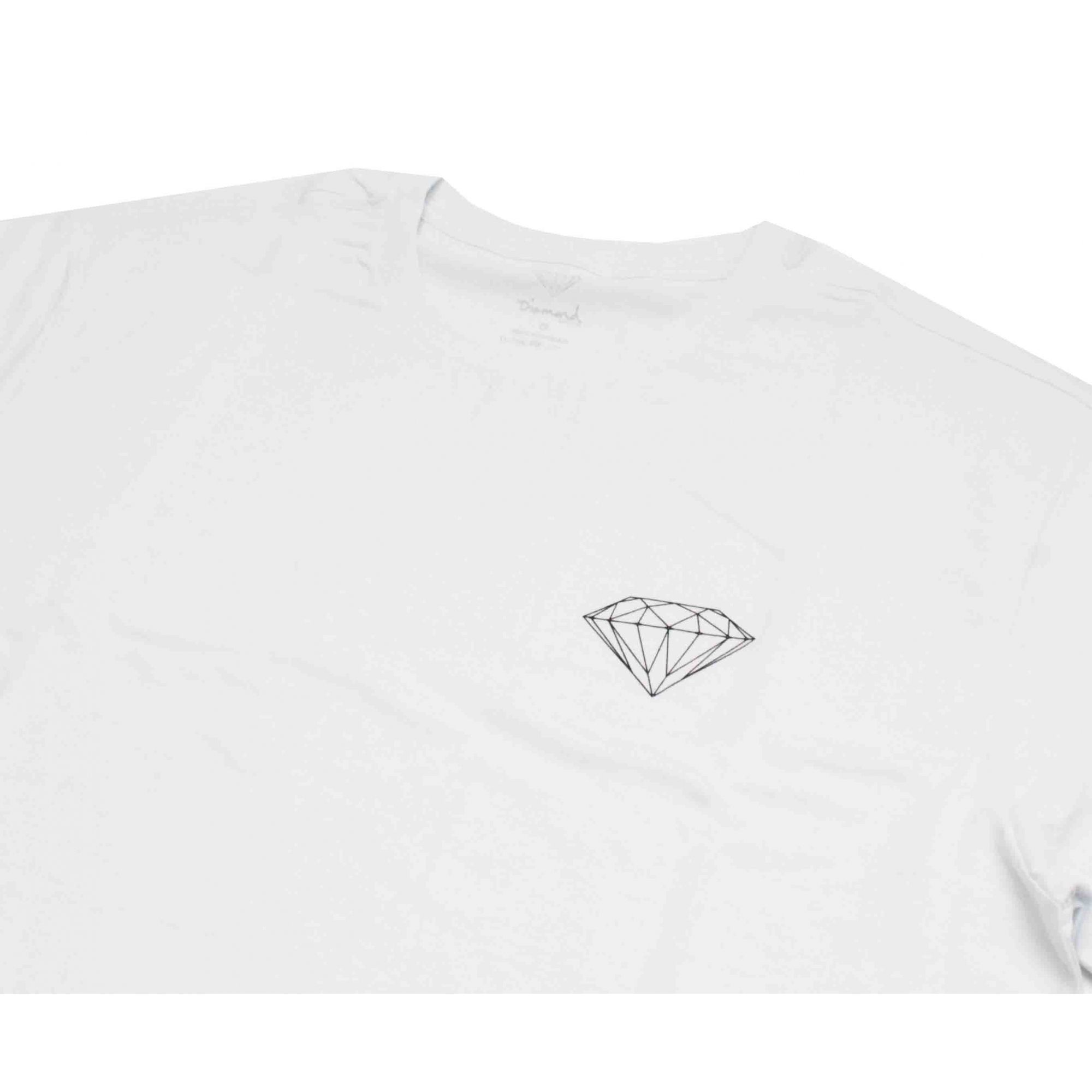 Camiseta Diamond Brilliant White