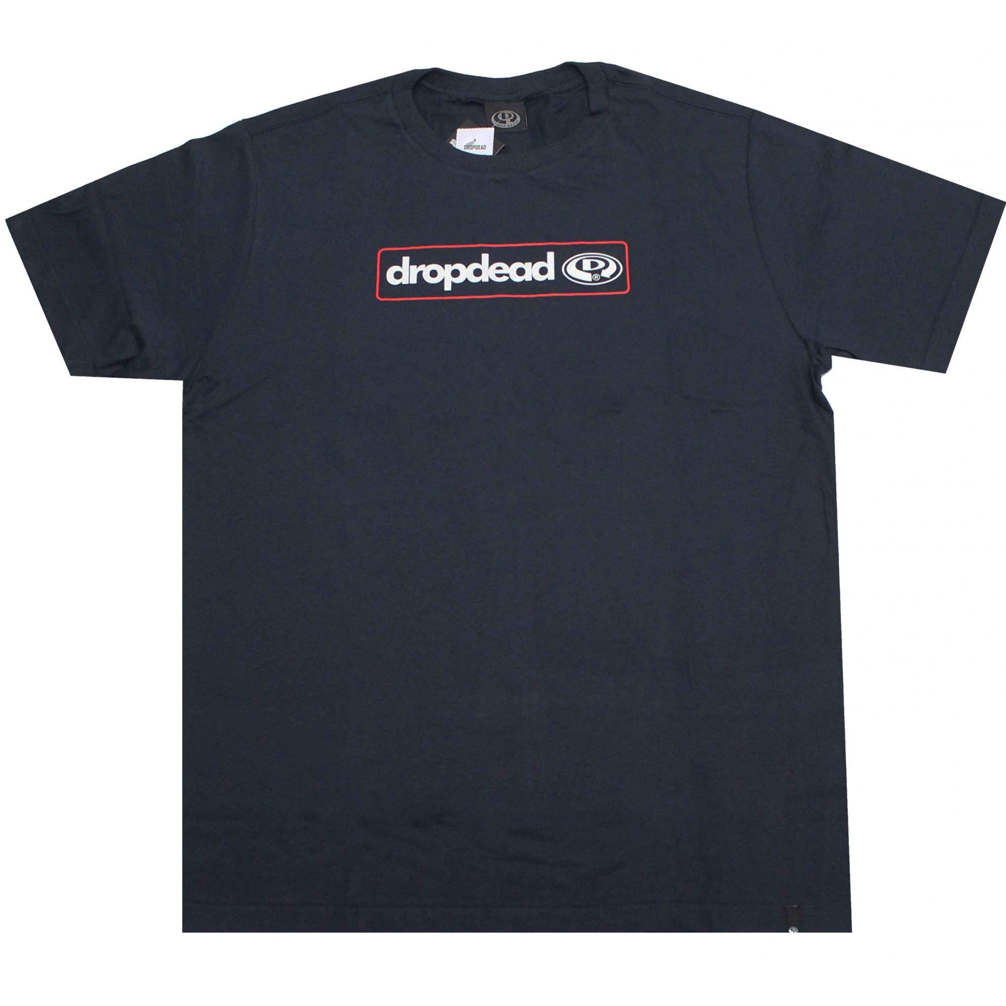 Camiseta Drop Dead Contour Blue Navy