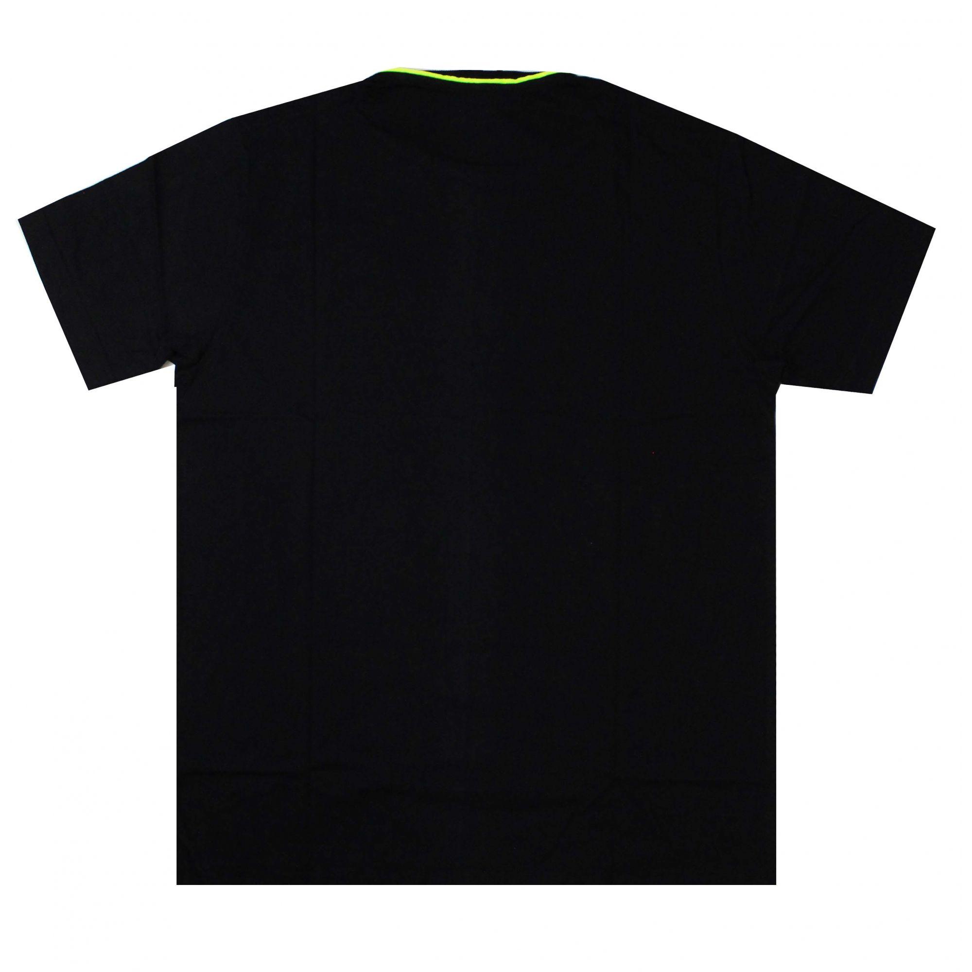 Camiseta Drop Dead Reflex Crew Preto