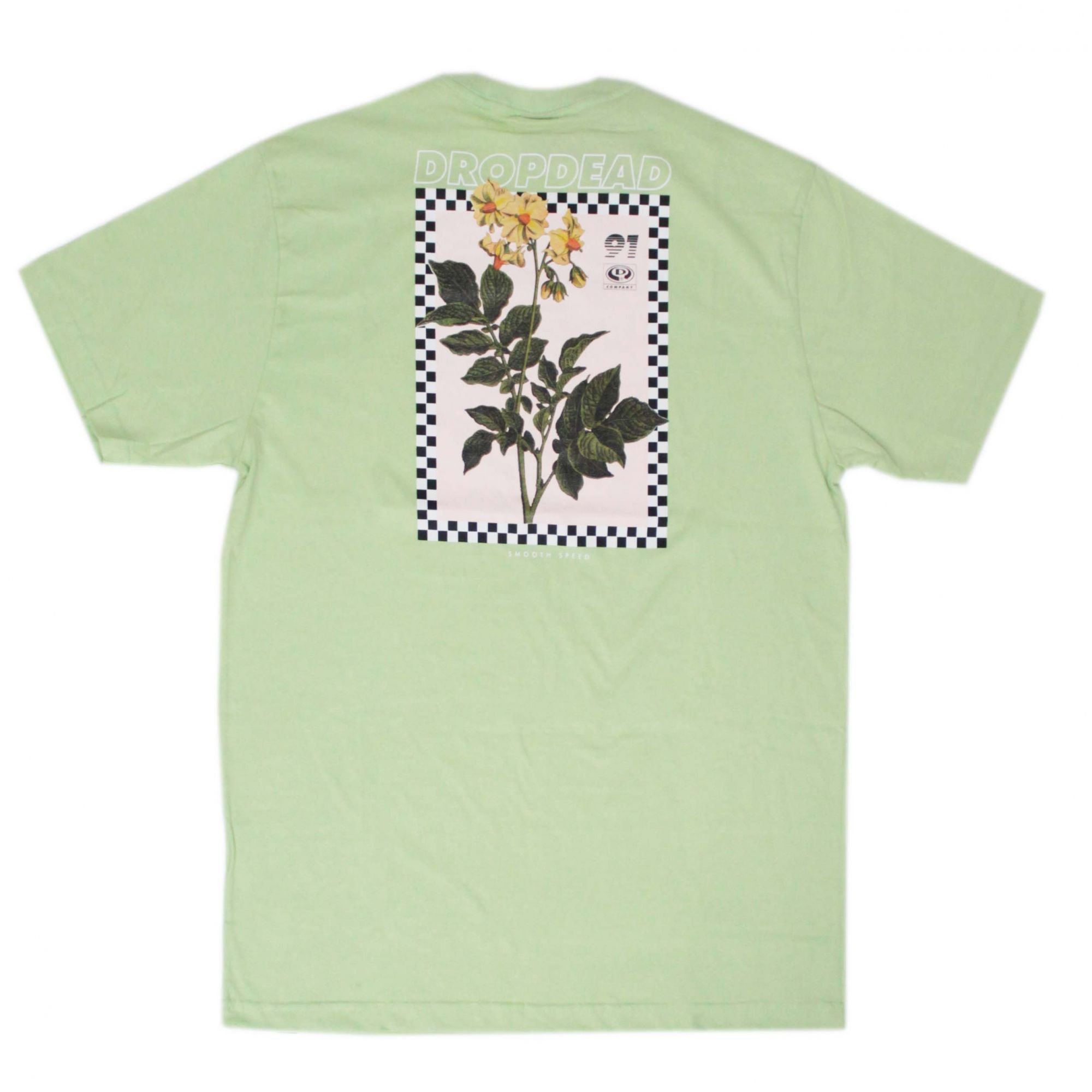 Camiseta Drop Dead Smooth Speed Verde Claro