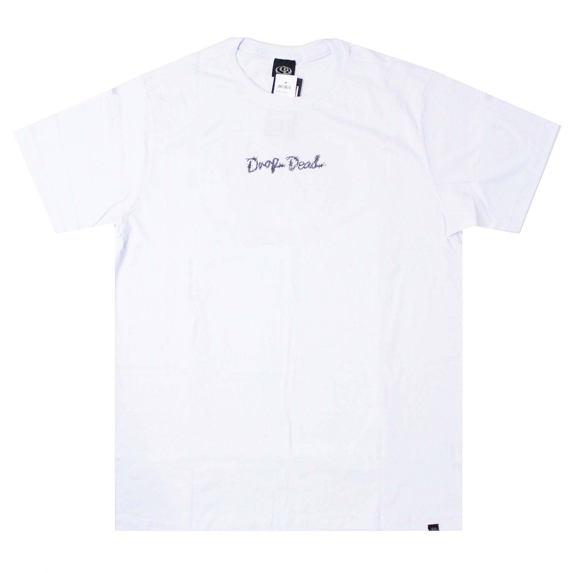 Camiseta Drop Dead Wired Branco