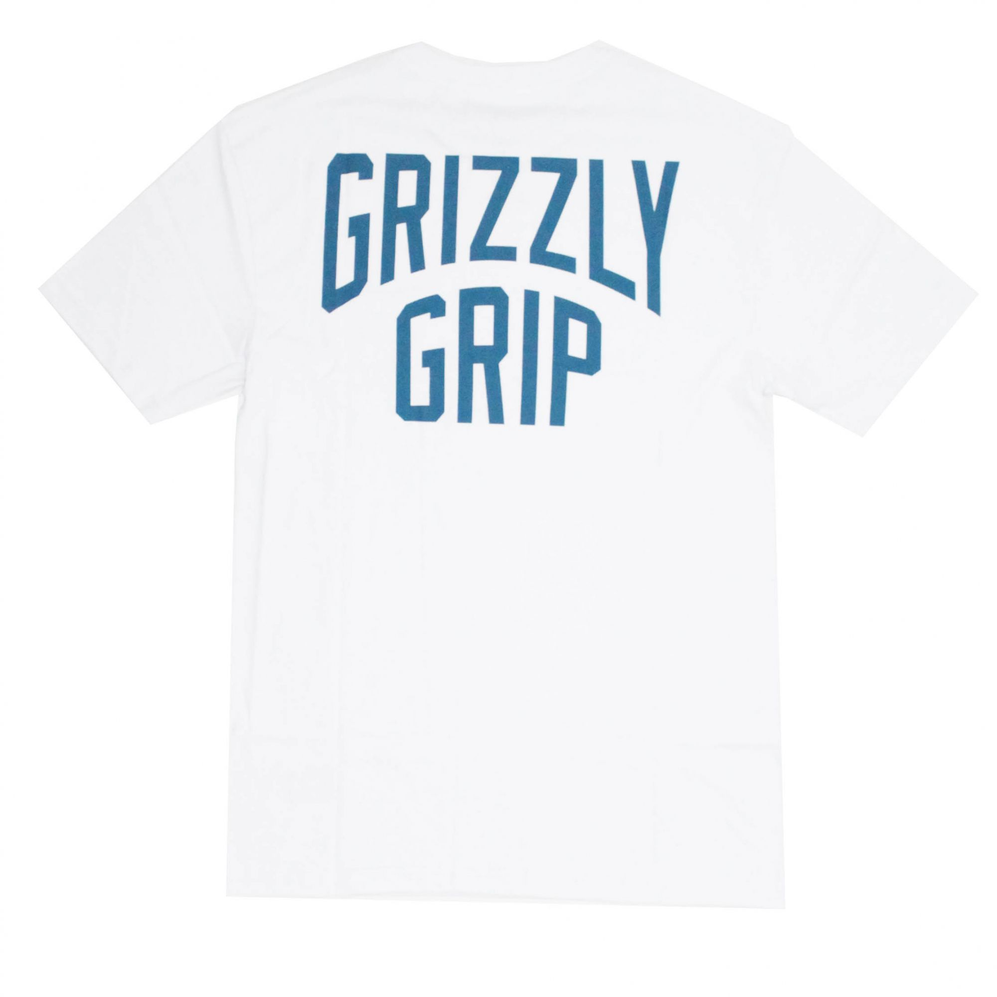 Camiseta Grizzly Bolso All City Pocket Branco