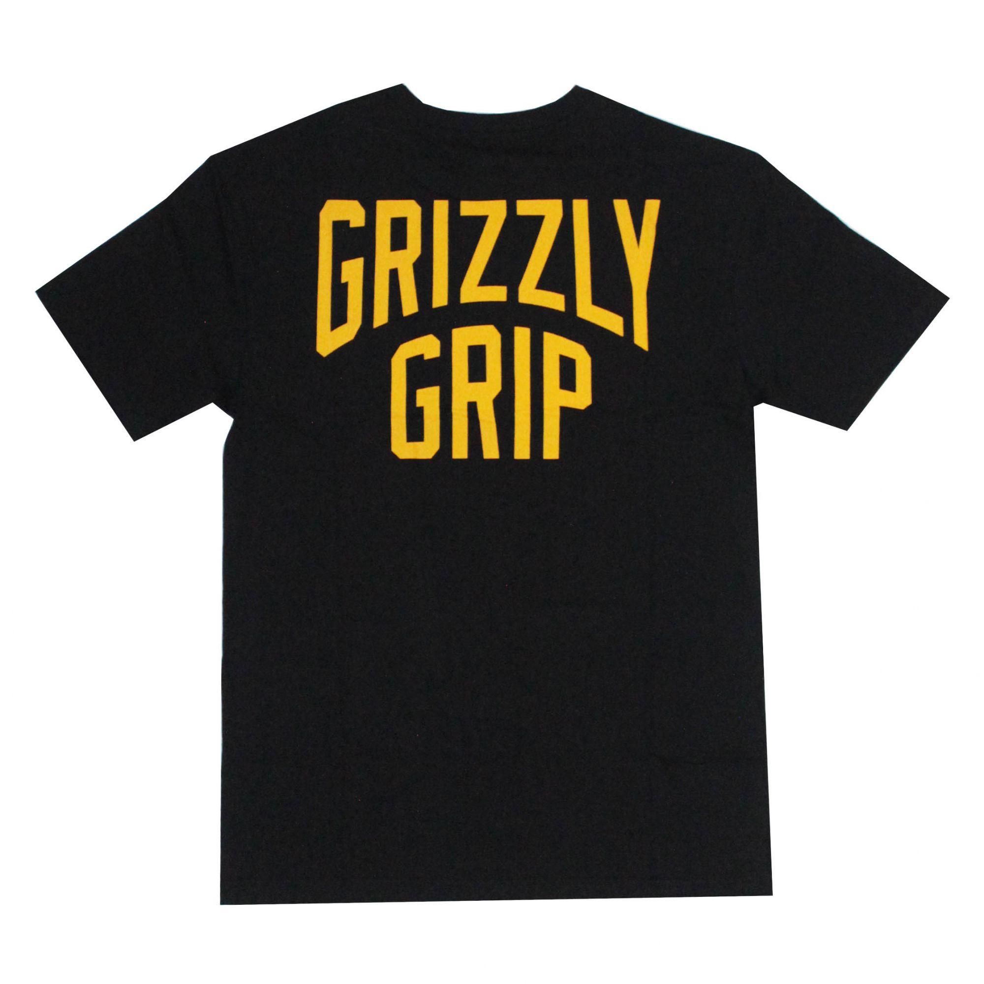 Camiseta Grizzly Bolso All City Pocket Preto