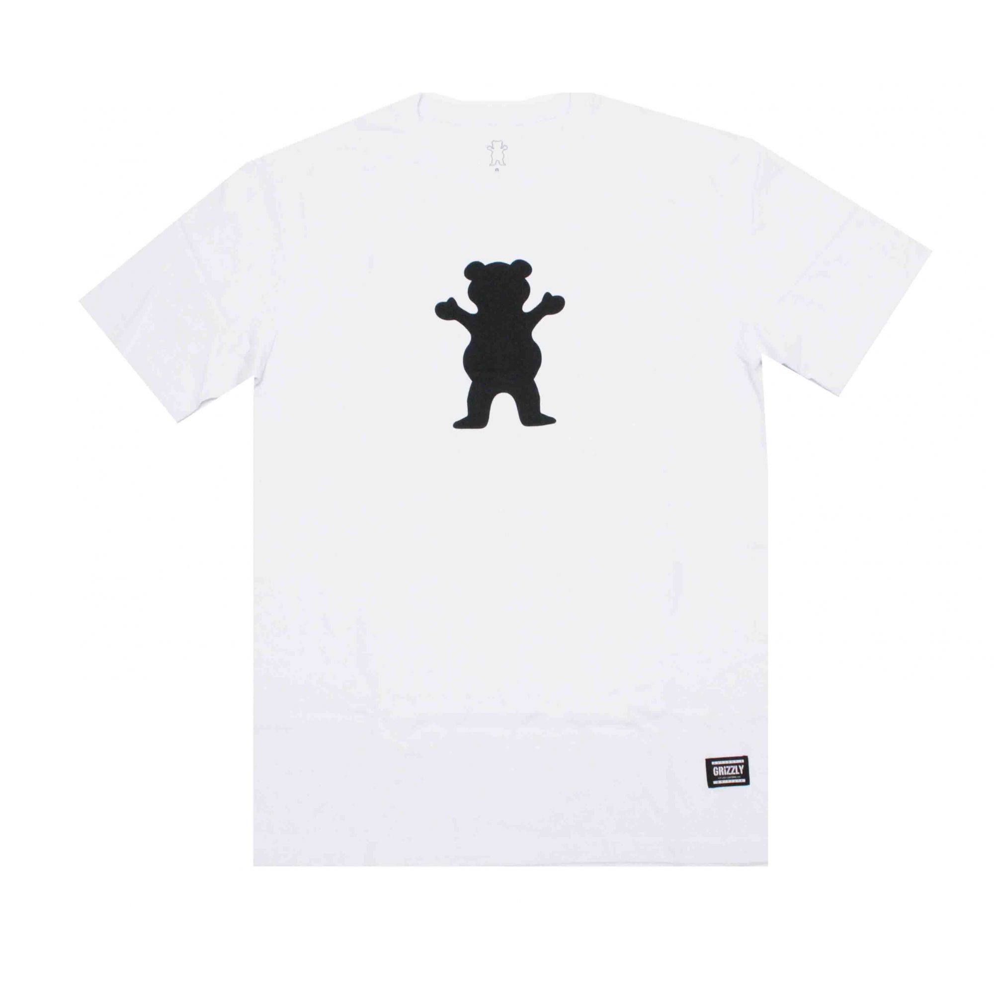 Camiseta Grizzly Og Bear Logo White