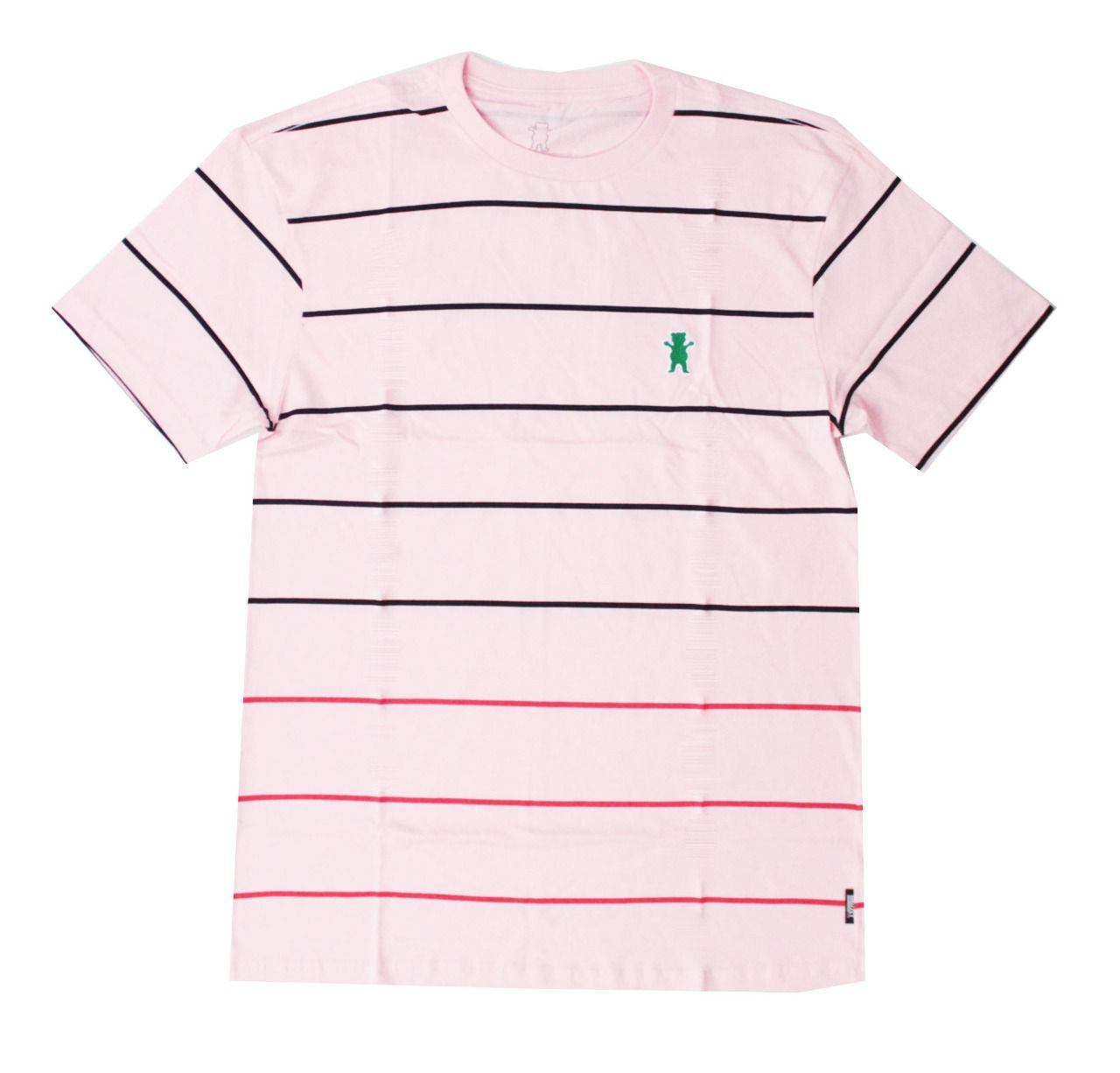 Camiseta Grizzly Saguaro Tee Rosa