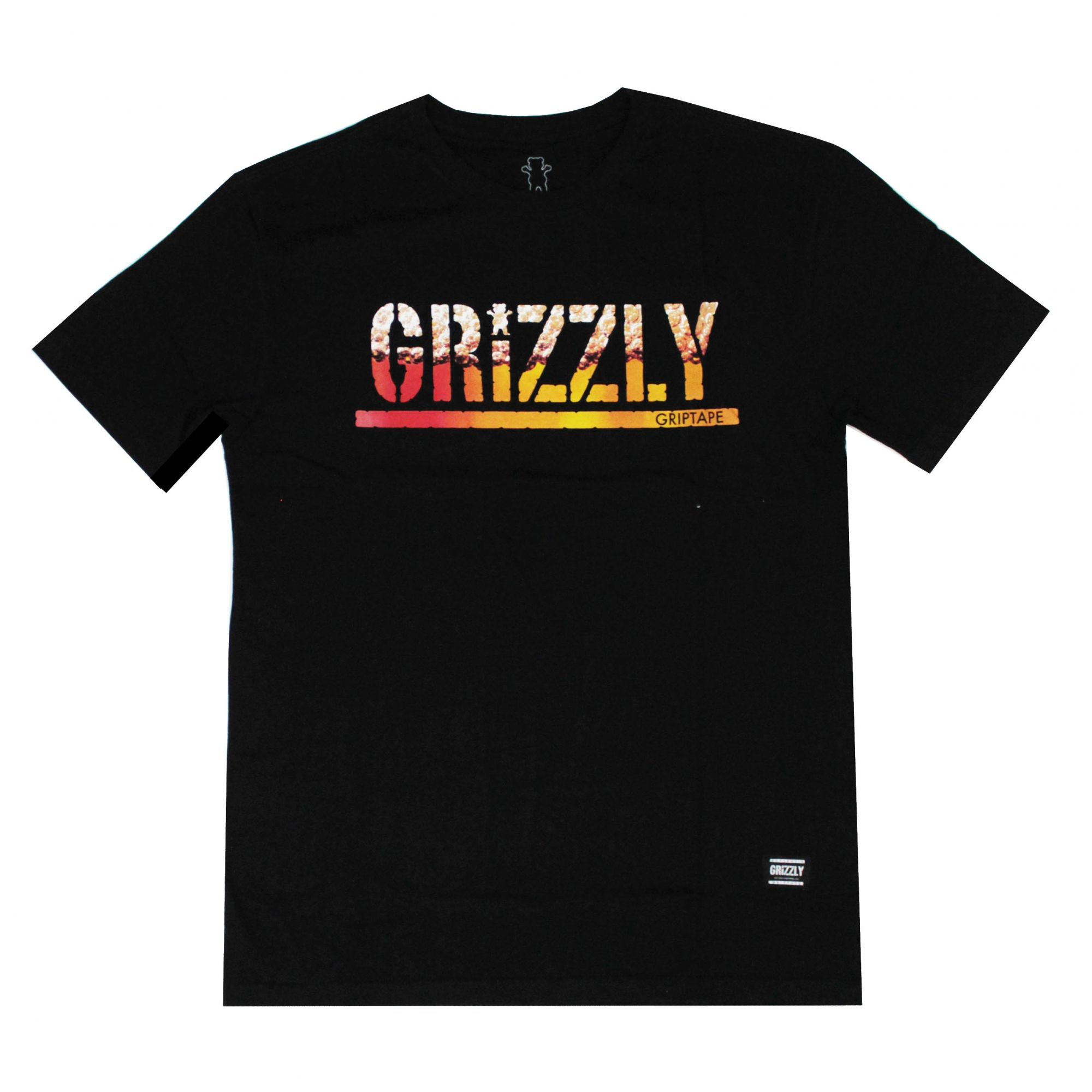Camiseta Grizzly Stamped Brew Preto