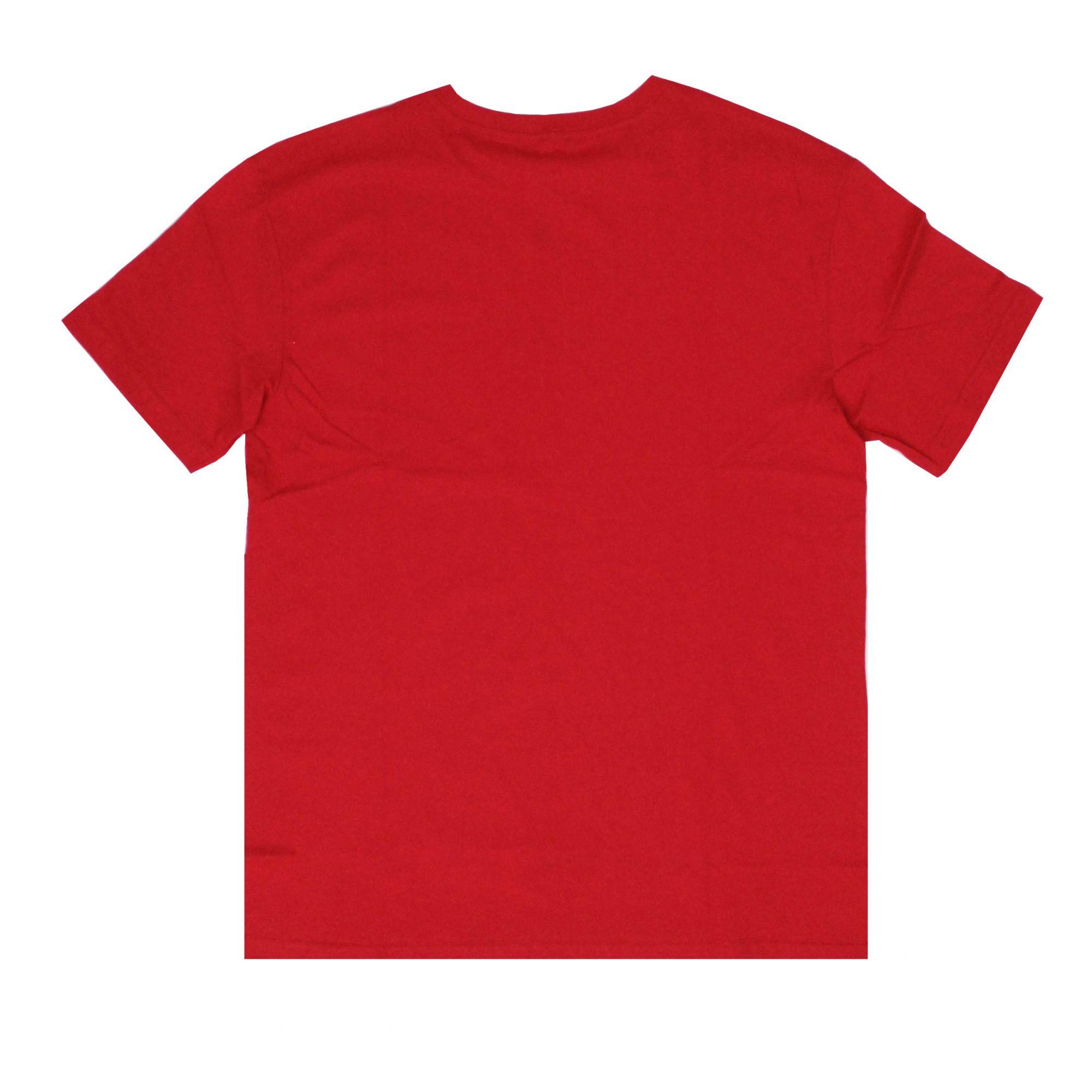 Camiseta Grizzly Stamped Brew Vermelho