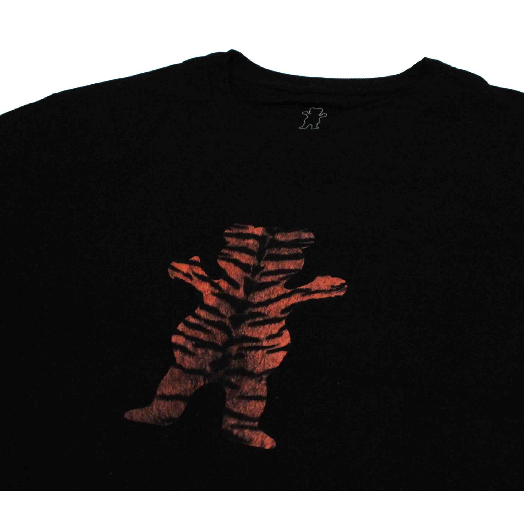 Camiseta Grizzly Tiger Stripe Black